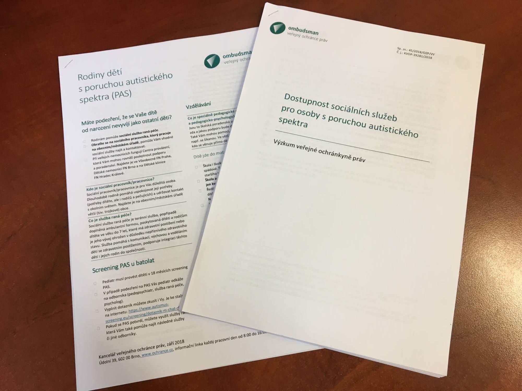 Výskum ombudsmanky sa zaoberal dostupnosťou sociálnych služieb pre ľudí s autizmom. Foto: Kristína Marcinková