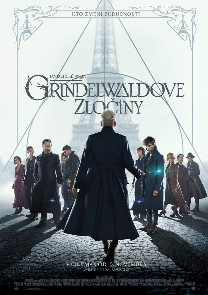 Oficiálny plagát Grindelwaldových zločinov. Autor: Cinemax