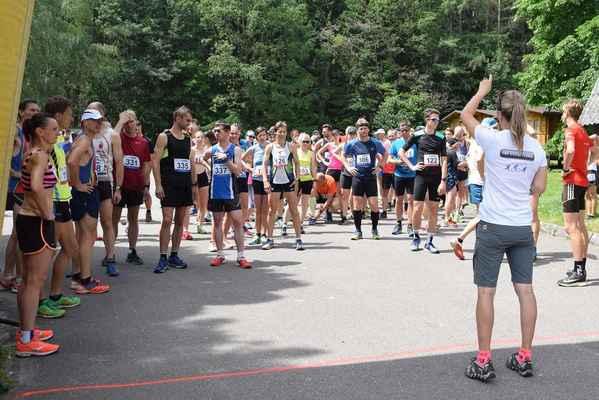 Běh přes Červený vrch 15.6.2019