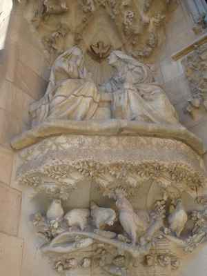 Marie a sv. Alžběta