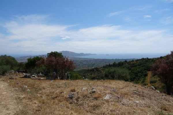 Několik pohledů na krajinu ostrova cestou