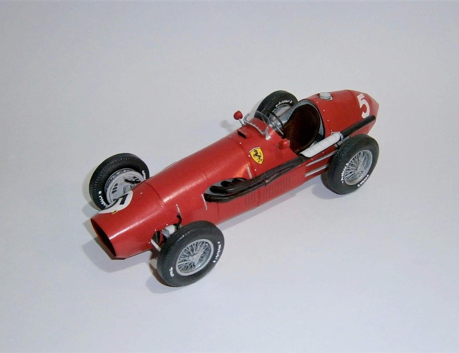 Ferrari 500 - A. Ascari, GP British 1953