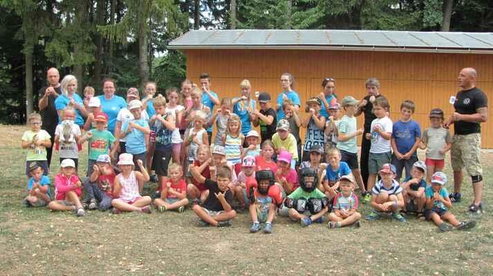 Příměstský tábor - úterý 21.8.2018 - foto vedoucí tábora