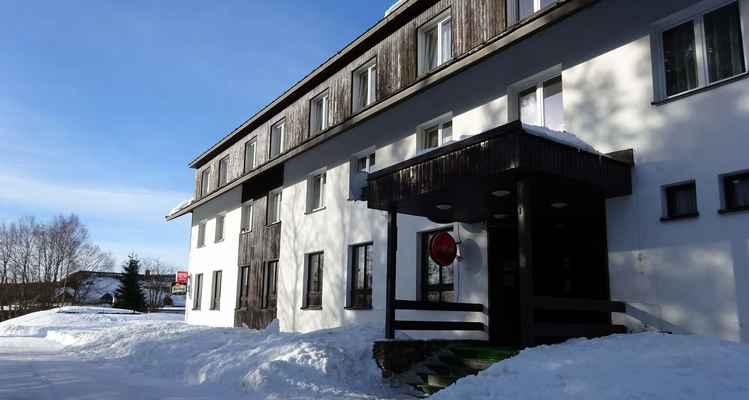 Nové Hutě, horský hotel Kodrea