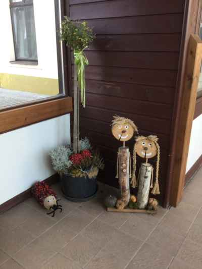 ZŠ Mžany 2019/10 - Podzimní výzdoba školy