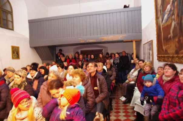 Vánoční koncert v kaply Nejsvětejší Trojice v Kladrubech