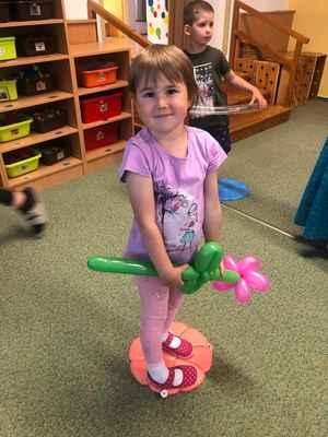 pasování předškoláků a balónkový den v MŠ