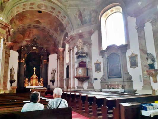 kostel je krásný