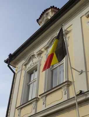 Valdštejnská  6 - Velvyslanectví Belgického království