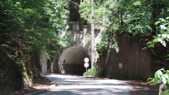 Kokořínský tunel je krátký silniční tunel na silnici III. třídy č. 2733 mezi vesnicemi Kokořín a Kokořínský Důl v okrese Mělník. Tunel má délku 23,7 metru a je součástí úseku s mnoha serpentinami, takže se nachází ve směrovém oblouku o poloměru 20 m a ve stoupání 9 %. Je vyrubán v pískovcovém masivu, oproti původnímu projektu bylo v tunelu vyzděno ostění. Wikipedia